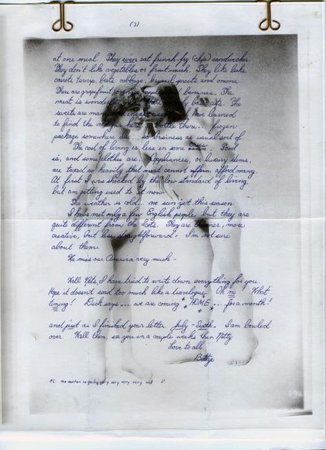 Letter from Bettye